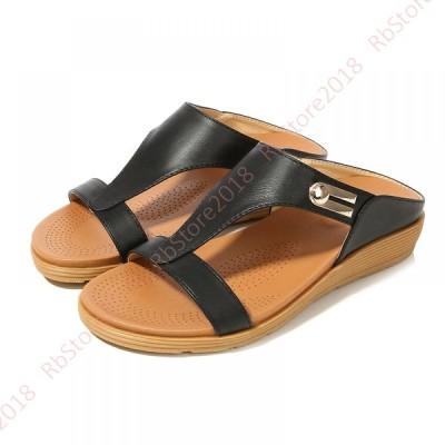 ボヘミア 風 サンダル 歩きやすい ローヒール 軽量 美脚 可愛い きれいめ 夏サンダル レディース 大きいサイズ ビーチサンダル リゾート 春 夏 秋 海 旅行 海外