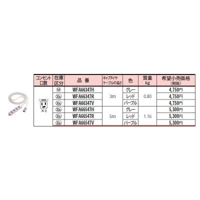 パナソニックEASYワイヤリングハーネス用OAタップ(パープル)WFA66547V