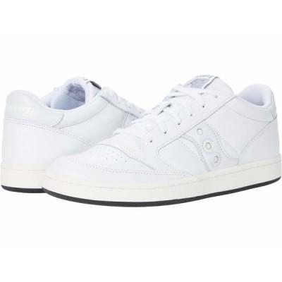 サッカニー スニーカー シューズ メンズ Jazz Court White/White