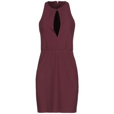 ディースクエアード DSQUARED2 ミニワンピース&ドレス ボルドー XS レーヨン 100% ミニワンピース&ドレス