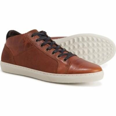 ブルボクサー BULLBOXER メンズ スニーカー シューズ・靴 made in portugal murlo mid sneakers - leather Cognac