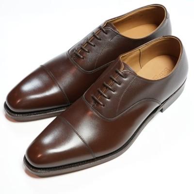 日本製グッドイヤーウエルト紳士靴 ショーンハイト 内羽根ストレートチップ(SH416-1)ラバー底 ブラウン