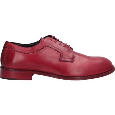 リチャード ラース RICHARD LARS メンズ シューズ・靴 laced shoes Red