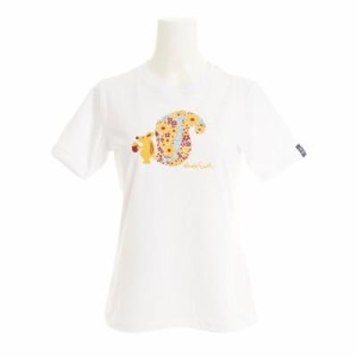 ホールアース(Whole Earth)SQUIRREL tシャツ 半袖 WE21HA18WHT (Lady's)