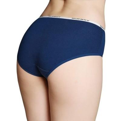 ショーツ レデース 女性用 下着 パンツ レギュラーショーツ ローライズ 綿 蒸れにくい 通気性 快適 かわいい 6枚セット 6枚組 (カラ