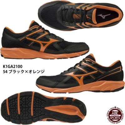 【ミズノ】MAXIMIZER 23 マキシマイザー23/ランニングシューズ/スニーカー/MIZUNO(K1GA2100) 54 ブラック×オレンジ