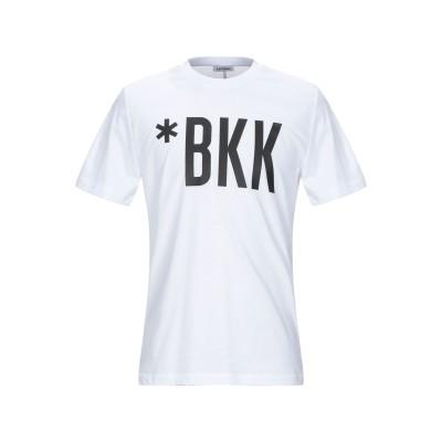 ビッケンバーグ BIKKEMBERGS T シャツ ホワイト XL コットン 100% T シャツ