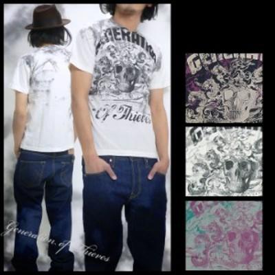 Generation of Thieves ジェネレーションオブティーブス プリントS S Tシャツ Thieves