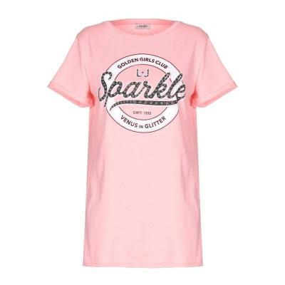 リュー ジョー LIU •JO T シャツ ピンク XS コットン 100% T シャツ
