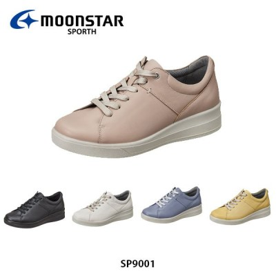 ムーンスター スポルス SP9001 レディース コンフォートシューズ 婦人靴 ワイド設計 衝撃吸収 足なり設計 洗えるインソール 4E MOONSTAR SPORTH SP9001