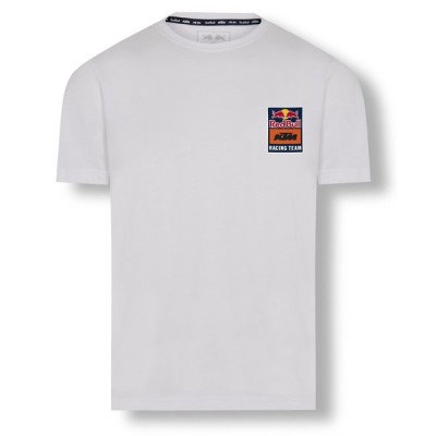 KTM レッドブル レーシング チーム オフィシャル バックプリント Tシャツ ホワイト 白 MotoGP RedBull