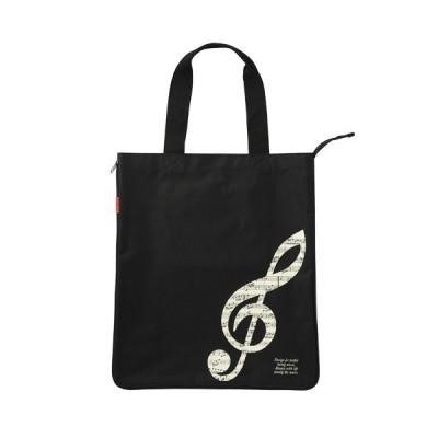 Piano line マチが広がるビッグバッグ  お取り寄せ商品です。    ピアノ発表会 記念品 に最適  音楽雑貨 ねこ雑貨 バレエ雑貨  記念品に最適 音楽会粗品