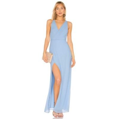 マジョレル MAJORELLE レディース パーティードレス ワンピース・ドレス Petunia Gown Baby Blue