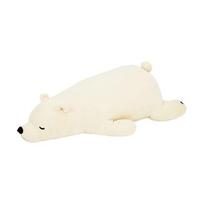 【バックヤードファミリー】 ねむねむプレミアム抱きまくら  L ユニセックス ホワイト Lサイズ BACKYARD FAMILY