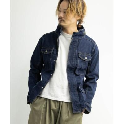 【ナイラス】 ストレッチデニム M-65ジャケット ユニセックス その他 L Nylaus