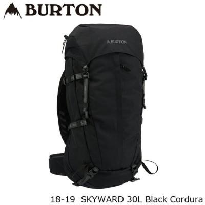 バートン バッグ 18-19 BURTON SKYWARD 30L Black Cordura バックパック 日本正規品