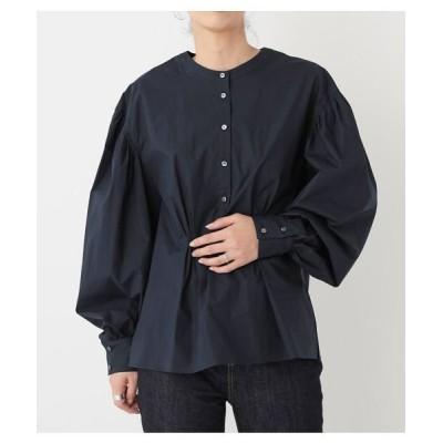 【ブラックバイマウジー】 cocoon sleeve pullover shirt レディース NVY FREE BLACK BY MOUSSY