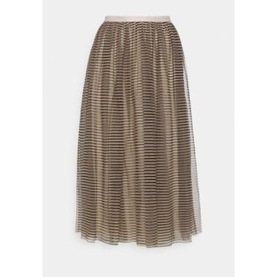 ニードルアンドスレッド スカート レディース ボトムス SYLVIE STRIPE BALLERINA SKIRT - A-line skirt - ballet black