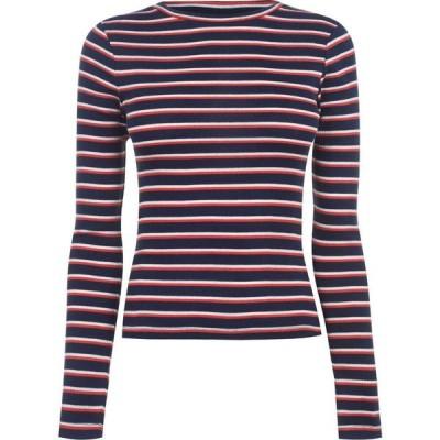 オンリー Only レディース 長袖Tシャツ トップス Freni Long Sleeve T Shirt Peacoat