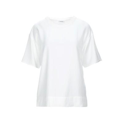 パロッシュ P.A.R.O.S.H. ブラウス ホワイト XS トリアセテート 100% / ナイロン / コットン ブラウス