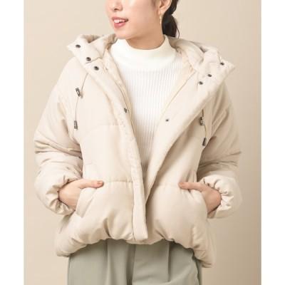 【アールピーエス】エステルピーチ中綿バルーンショートジャケット