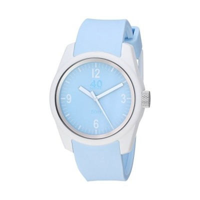 40Nine Women's Basic Japanese-Quartz Watch with Silicone Strap, Blue, 16 (Model: 40N4.4L) 並行輸入品