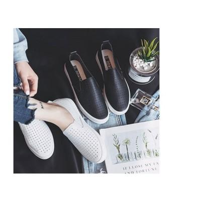 スリッポン レディースメッシュシューズ スニーカー コンフォート 通気 メッシュ編み 看護師 涼しい 通気性抜群 靴 履きやすい ママ 靴 軽量