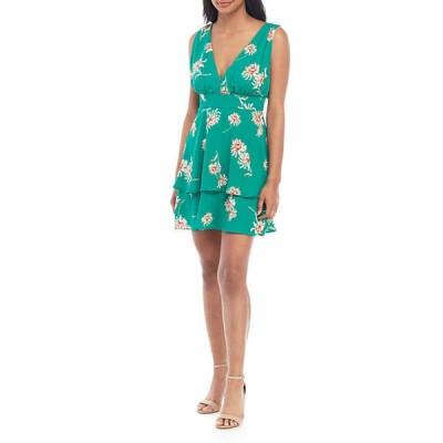ビービーダコタ レディース ワンピース トップス Garden Strolls Mini Dress