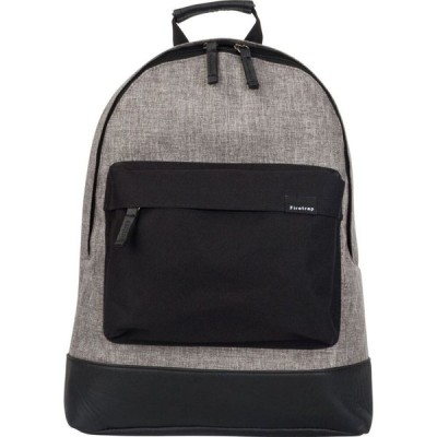 ファイヤートラップ Firetrap メンズ バックパック・リュック バッグ Classic Backpack Grey/Black