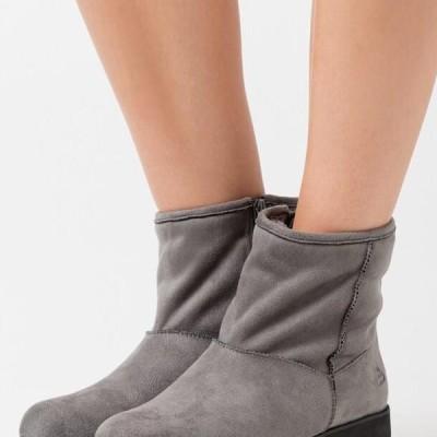ブルボクサー レディース ブーツ Wedge Ankle Boots - mous