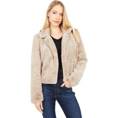 ブランクニューヨーク Blank NYC レディース ジャケット アウター Faux Fur Cropped Jacket Frozen Daquiri