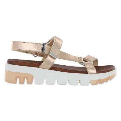 ミア レディース サンダル シューズ Rylie Metallic Platform Sandals
