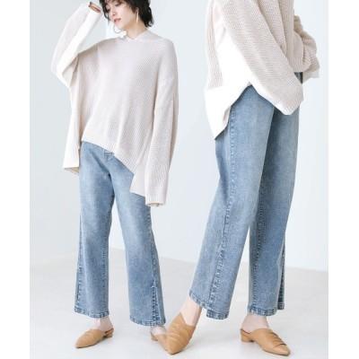 Bou Jeloud / スリットストレッチデニムパンツ WOMEN パンツ > デニムパンツ