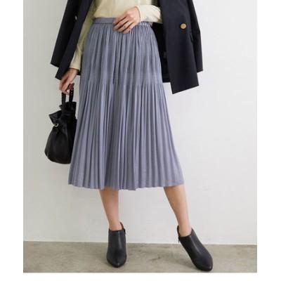 【撥水加工】マジョリカプリーツミディ丈スカート