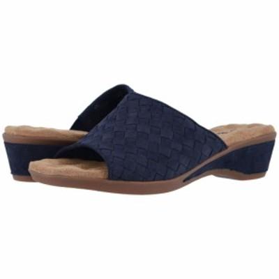 ウォーキング クレードル Walking Cradles レディース サンダル・ミュール シューズ・靴 Keely Navy Nubuck