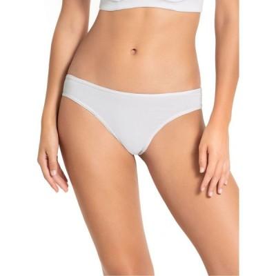 レオニーサ Lumar by Leonisa レディース ショーツのみ インナー・下着 Microfiber Thong Panty white