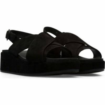 カンペール Camper レディース サンダル・ミュール シューズ・靴 misia x-strap sandal Black