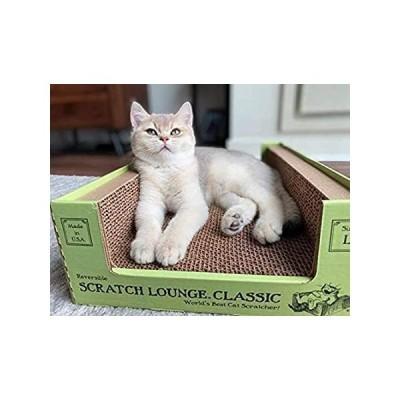 Scratch Lounge Cardboard Cat Scratcher - New Size - Lasts 10 Times Longer T好評販売中
