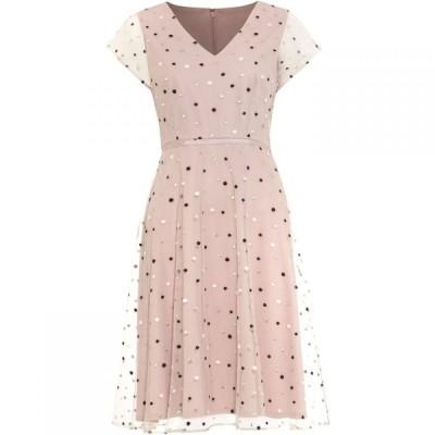 フェイズ エイト Phase Eight レディース ワンピース ワンピース・ドレス Leilani Spot Tulle Dress Pink