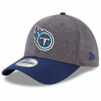 New Era ニュー エラ スポーツ用品  New Era Tennessee Titans Heathered Gray/Navy Shadow Tech 39THIRTY Flex Hat