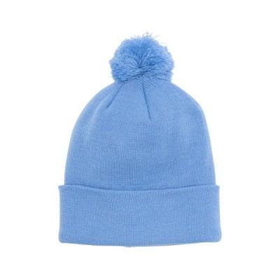 アメリカンニードル メンズ 帽子 アクセサリー The Pom Knit Beanie COLUMBIA BLUE