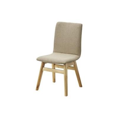 ダイニングチェア(ベージュ)〈HOC-711BE〉椅子 アームレスチェア 北欧風 シンプル ナチュラル インテリア 家具 おしゃれ