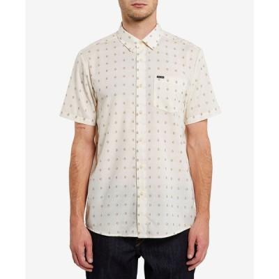ボルコム Volcom メンズ 半袖シャツ トップス Milton Short Sleeve Shirt Primer White