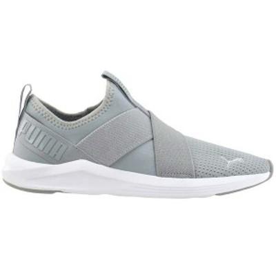 プーマ レディース スニーカー シューズ Prowl Slip On Training Shoes High Rise / Puma White