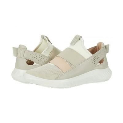 ECCO エコー レディース 女性用 シューズ 靴 スニーカー 運動靴 ST.1 Lite Slip-On - Multicolor Gravel Cow Leather/Textile