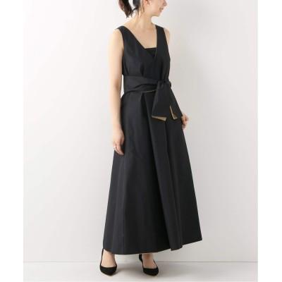 レディース スピック&スパン 【KAMPERETT】 LAVER DRESS キャメル A フリー