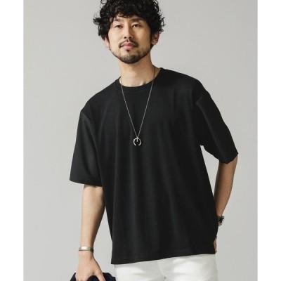 布帛ドッキングビッグTシャツ 6681124049