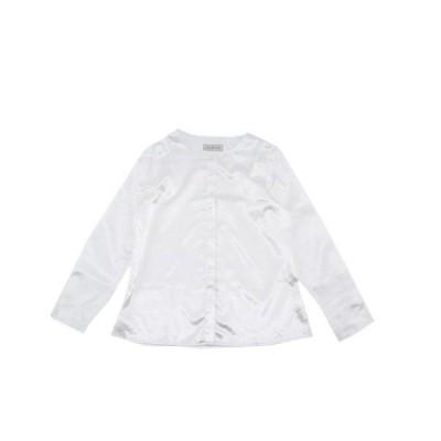 (*SALE*) *当店おススメブランド*LAUNCH BASIC TRADEラウンチベーシックトレードA LINE TUNIC SHIRTSAラインチュニックシャツWHITE(ホワイト)