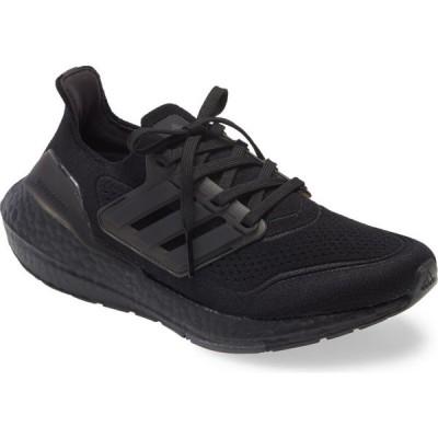 アディダス ADIDAS レディース ランニング・ウォーキング シューズ・靴 UltraBoost 21 Running Shoe Black/Black/Black