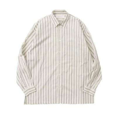 シャツ ブラウス GOODBETTERBEST ストライプシャツ
